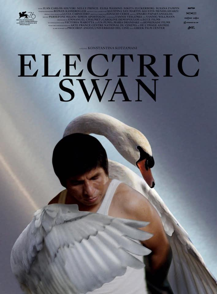 Electric Swan Affiche